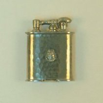 Image of 1983.860 - Lighter with the Axis Club Crest