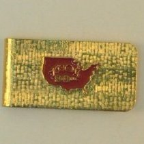 Image of 1988.86 - Goldtone Money Clip
