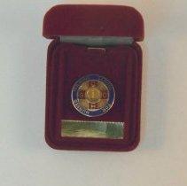 Image of 1994.72 - Nurse's Pin in Red Velvet Box