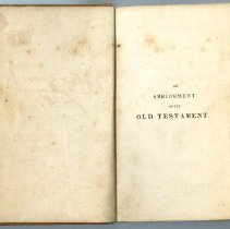 Image of An Abridgement of Old Testament