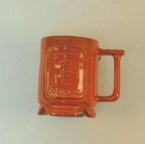 Image of 1986.01 - CI Frankoma Mug-Orange