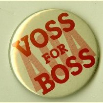 Image of 2000.30 - Voss for Boss American Osteopathic Association Pin