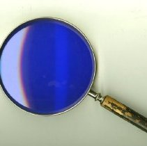 Image of 1980.481 - Cobalt Magnifying Glass
