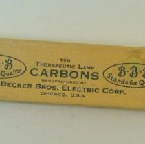 Image of 1987.18 - Therapeutic Lamp Carbon Sticks