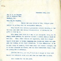 Image of 2009.61 - Letter to R. C. McCaughan from Charles Kauffman