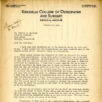 Image of 2009.61 - Correspondence between Wallace Pearson, Charles Kauffman and Perrin Wilson