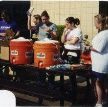 Image of 2011.98 - Group of SAA Members Raffling Gifts