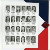 Image of 2011.98 - Page 7 of the Student Associates Auxiliary 2002 Scrapbook