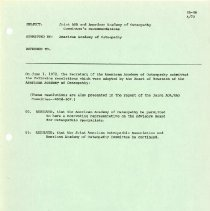 Image of 2014.54 - American Osteopathic Association 1971-1972 Annual Meeting
