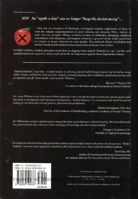2014 01 - Radical Medicine Profound Intervention in a Profoundly