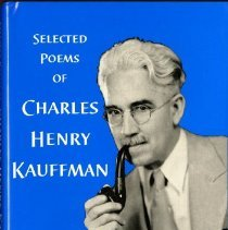 Image of 2009.61 - Selected Poems of Charles Henry Kauffman