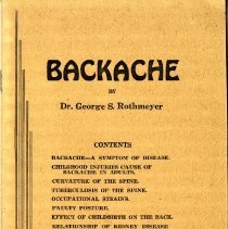 Image of 2014.42 - Backache