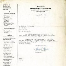 Image of 2009.61 - Letter to Charles Kauffman from Harry Caylor