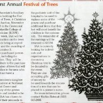 Image of 2011.98 - Festival of Trees Recognition