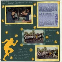 Image of 2011.98 - Page 34 of the Student Associates Auxiliary 1999 Scrapbook