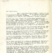 Image of 2009.61 - Letter to George Goode from Charles Kauffman
