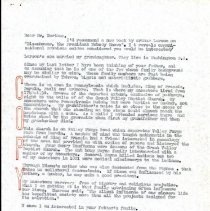Image of 2009.61 - Letter to Thomas Northup from Charles Kauffman