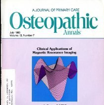 Image of 2014.64 - Osteopathic Annals, Vol, 13, No. 7
