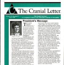 Image of 2014.64 - The Cranial Letter, Vol, 52, No. 2