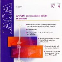 Image of 2014.64 - The Journal of the American Osteopathic Association, Vol, 97, No. 4