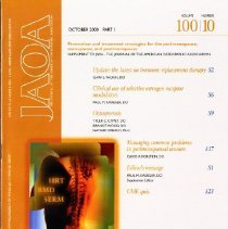 Image of Supplement to The Journal of the American Osteopathic Association, Vol, 100