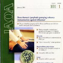 Image of The Journal of the American Osteopathic Association, Vol, 101, No. 1