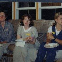Image of 2011.98 - Rana Burr and Carla Worth with Hallie Allen at SAA Progressive Dinner