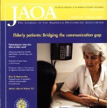 Image of 2014.64 - The Journal of the American Osteopathic Association, Vol, 102, No. 2