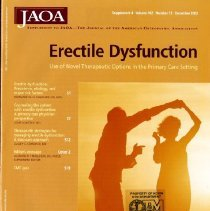 Image of 2014.64 - Supplement to The Journal of the American Osteopathic Association, Vol, 102, No. 12