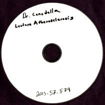 Image of 2013.57 - Dr. Cenedella Lecture on Atherosclerosis
