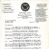 Image of 2009.61 - Letter to Charles Kauffman from George Goode