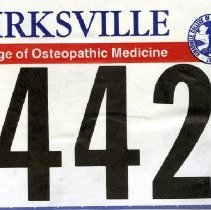 Image of 2011.98 - Osteopathic Run Tag