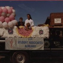 """Image of 2011.98 - Laura and Michael Powers with Debbie Almaguer at """"Still - The Best"""" Parade"""
