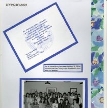 Image of 2011.98 - Page 40 of the Student Associates Auxiliary 1993 Scrapbook