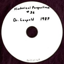 Image of 2013.57 - Historical Perspective #36 V. A. Leopold