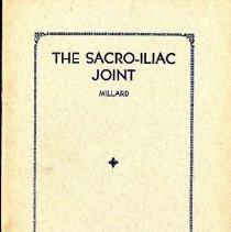 Image of 1996.26 - The Scaro-Iliac Joint
