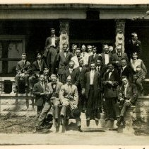 Image of 2009.61 - Atlas Club Members