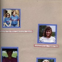 Image of 2011.98 - Page 7 of the Student Associates Auxiliary 1991 Scrapbook