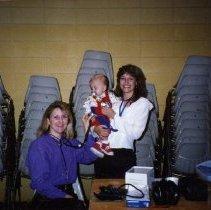 Image of 2011.98 - Lori Nyte and Leisa Hiatt with Forrest Hiatt