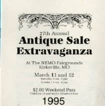 Image of 2011.98 - 27th Annual Antique Sale Extravaganza