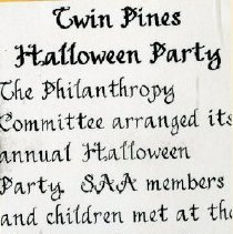 Image of 2011.98 - Twin Pines Halloween Party