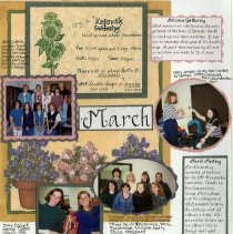 Image of 2011.98 - Page 34 of the Student Associates Auxiliary 1996 Scrapbook