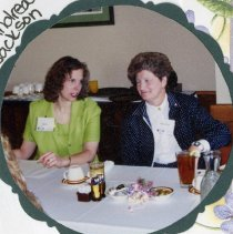 Image of 2011.98 - Cindy Hix and Andrea Jackson at Installation Brunch