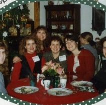 Image of 2011.98 - SAA Members at Christmas Ornament Exchange