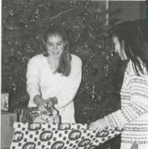 Image of 2011.98 - SAA Members Wrapping Presents