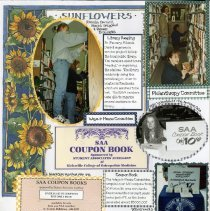 Image of 2011.98 - Page 26 of the Student Associates Auxiliary 1996 Scrapbook