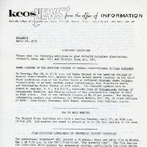 Image of 2014.56 - KCOS News