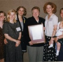 Image of 2011.98 - SAA Members with Pat Molnar