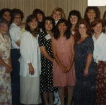 Image of 2011.98 - Kathy Campbell with Class of 1996