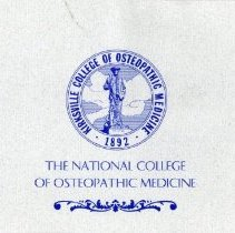 Image of 2011.98 - National Osteopathic Health Conference Thank You
